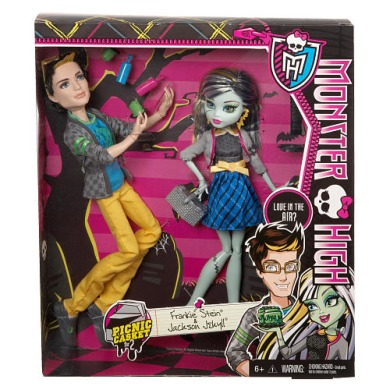 Monster High, Фрэнки Штейн и Джексон Джекилл, пикник