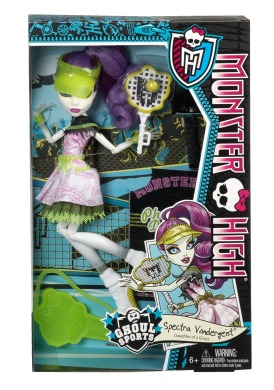 Monster High, Спектра Вондергейст, Монстроспорт