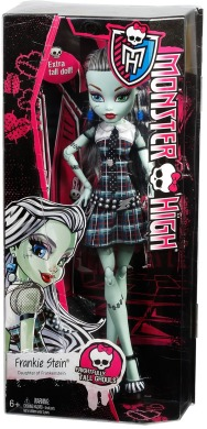 Monster High, Фрэнки Штейн, рост 43 см.