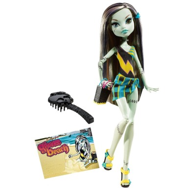 Monster High, Фрэнки штейн. Серия: Мрачный пляж