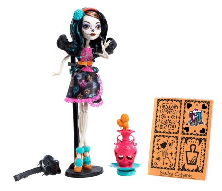 Monster High, Скелита Калаверас, арт класс
