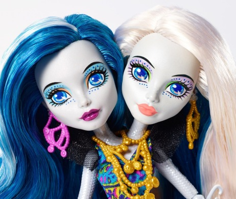 Monster High, Пери и Перл Серпентайн, большой Скарьерный риф