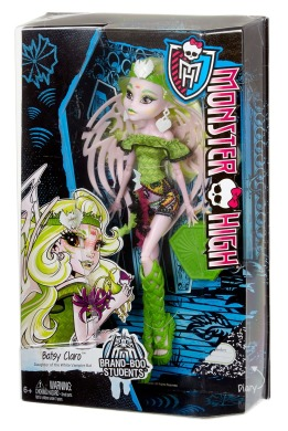 Monster High, Бэтси Кларо. Серия: Брэнд-Бу Студенты