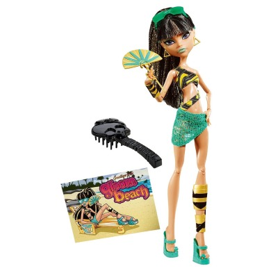 Monster High, Клео де Нил. Серия: Мрачный пляж