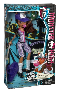 Monster High, Клодин Вульф, Монстроспорт