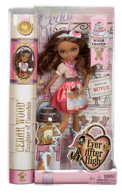 Ever After High, Сидар Вуд, покрытые сахаром