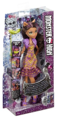 Monster High, Клодин Вульф, Танец без страха