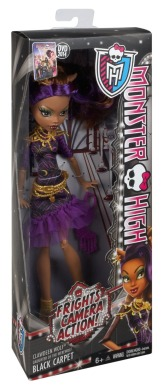 Monster High, Клодин Вульф, Страх! Камера! Мотор!